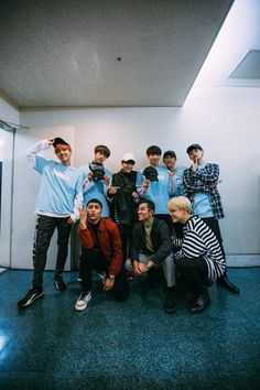 BTS with Quick Style (Dancing crew) [161129]
