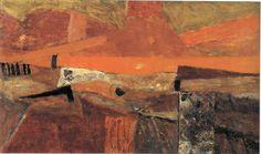 Piotr Potworowski - Zachód słońca w Toskanii / Sunset In Toscania