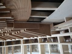 Dome ceiling at a private Villa in Mallorca Dome Ceiling, Villa, Ash, Stairs, Studio, Design, Home Decor, Majorca, Homes