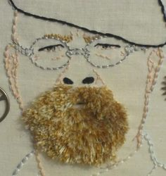 Mythbusters by CraftyOctober... awesome stitching here!