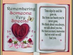 Remembering someone very special