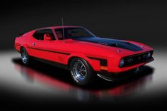1971 Ford Mustang Mach 1 429 4-speed With AC