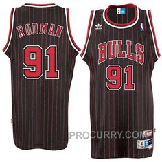 Dennis Rodman Chicago Bulls Soul Swingman Throwback Jersey-Black a206023c0