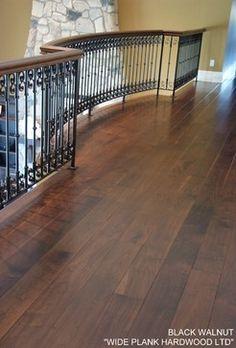 BLACK WALNUT - modern - wood flooring - vancouver - Wide Plank Hardwood LTD.