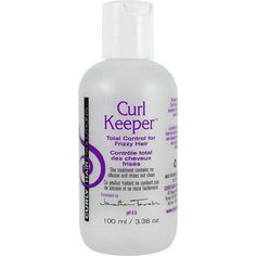____[ STYLER, FINISHING/GEL ]___ Curly Hair Solutions Curl Keeper, $9.99 (4/5 based on 190 reviews) ... Use before styling products. By putting moisture back in the hair cuticle, this unique, silicone-free formula eliminates the dryness which causes frizziness, with no product buildup, leaving curls shiny and feeling clean. Great for everyday use and ideal for humidity, this product can be reactivated with water simply by running wet hands through hair. NO: silicone, paraben, protein, sulfate