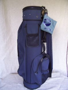 Vintage Golf Bag GOLD EAGLE PROFESSIONAL  used - all zippers are working by LIZ404 on Etsy Vintage Golf Clubs, Golf Bags, Zippers, Eagle, Gold, Etsy, Eagles, The Eagles, Door Hinges