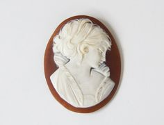Vintage Unmounted Carved Genuine Shell Cameo by therosestreet, $24.95  http://www.etsy.com/shop/therosestreet