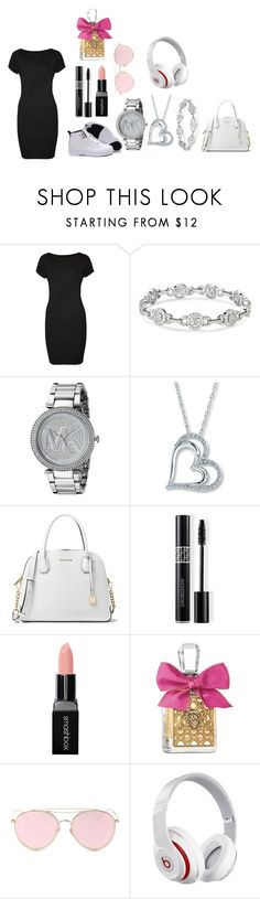 """""""Ayeee"""" by mercedezs on Polyvore featuring WearAll, Michael Kors, MICHAEL Michael Kors, Christian Dior, Smashbox, Juicy Couture, LMNT and Beats by Dr. Dre"""