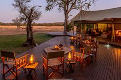 For a really intimate encounter at the Kruger National Park, spend a few nights at the Plains Camp. Four luxury, African explorer-themed tents make up the camp,… Kruger National Park Safari, National Parks, Private Safari, Deck Fire Pit, Adventure Activities, Game Reserve, Day Tours, Tent Camping, Lodges