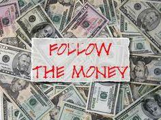 money - to here...