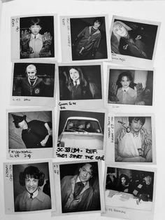 Harry Potter Ron, Harry Potter Images, Harry Potter Aesthetic, Harry Potter Movies, Harry Potter Wallpaper, Draco Malfoy, Ravenclaw, Hogwarts, Polaroid