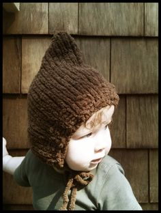 Collette's place: Woodland Elf Winter Hat knitting pattern