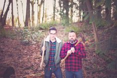 Father son photo ideas, lumbersexual, handsome men in plaid, men with axes, Salem Oregon photographer Father Son Photos, Father And Son, Salem Oregon, Photo Ideas, Sons, Handsome, Plaid, Couple Photos, Photography