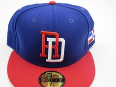 c3b0ab7f21d WBC Classic Dominican Republic 59FIFTY MLB Authentic New Era Fitted Hat 7 -5 8…