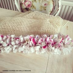 Easy tutorial on how to make a rag rug