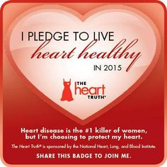 What's your heart health resolution in 2015? #inspiration #motivation #pledge