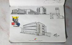 Archis Loci: Sketch| Tribute to BAUHAUS