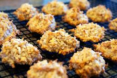 Almond and Coconut Macaroons—no flour, no yolks