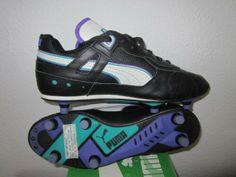 650f6859690b Details about vintage PUMA MARADONA S Fußballschuhe football boots Uk 7.5  unbenutzt WC WM 80er
