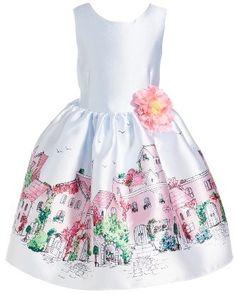 Toddler Girl's Pippa & Julie Graphic Print Sleeveless Dress