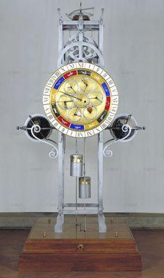 Lorenzo della Volpaia, Planetary clock