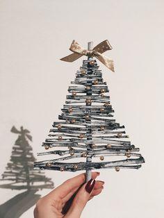 Christmas three. DIY
