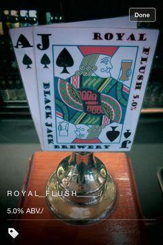 Blackjack beer clip