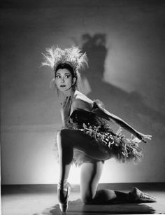 Margot Fonteyn - The Firebird (1954). Photo: Houston Rogers.