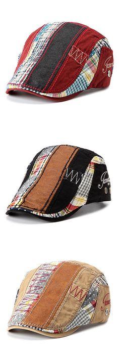 $7.07  Men Women Cotton Beret Cap Casual Outdoor Visors Sun Hat