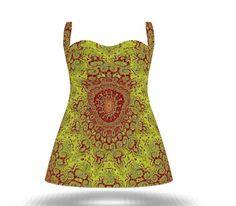 Boho Girl A- Line Summer & Evening Dresses. Feel Good Fashion & Living®  by Marijke Verkerk Design www.marijkeverkerkdesign.nl