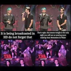 All Time Low and Motionless in White APMAs 2015