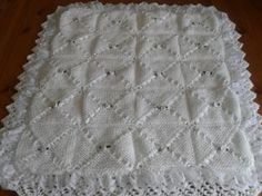 knitting patterns for baby blankets | BABY PRAM BLANKET KNITTING PATTERNS Catalog > BABY PRAM BLANKET ...