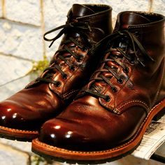 Leather Men, Leather Shoes, Red Wing Boots, Mens Boots Fashion, Vintage Boots, Cool Boots, Men S Shoes, Me Too Shoes, Casual Shoes