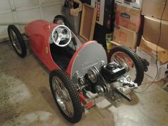 1950 CycleKart Italian Red Dave D
