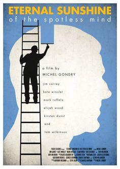 Minimalist movie poster - Eternal Sunshine of the Spotless Mind