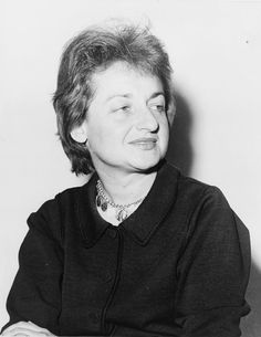 Betty Friedan writer of the feminine mystique and founder of the women's liberation movement a great Jew