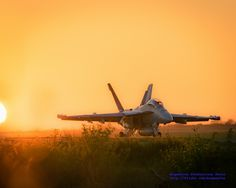 """Sunset at Ault Field With All the Feeling of """"Top Gun"""""""