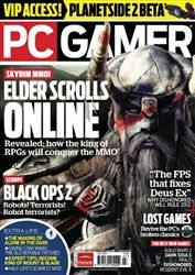 PC Gamer Magazine July 2012 Video Game Magazines, Tech Magazines, Pc Gamer Magazine, Name Games, Elder Scrolls Online, Skyrim, Digital, Content, Note