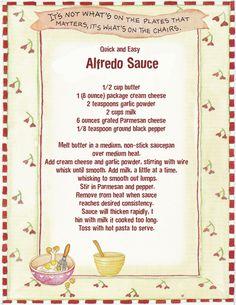 Easy+Alfredo+Sauce.jpg 1,236×1,600 pixels