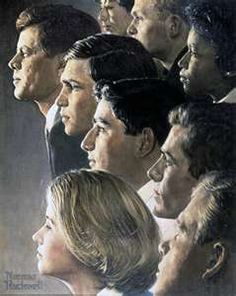 Norman Rockwell - The Peace Corps - JFK's Bold Legacy, 1966