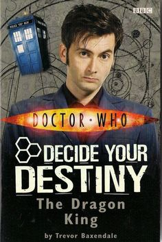 DOCTOR WHO  THE DRAGON KING by TREVOR BAXENDALE  DECIDE YOUR DESTINY