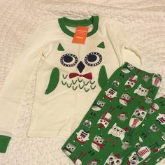 Check this item I am selling on Totspot, the resale shopping app for families.   New holiday owl gymmies pajamas set  Gymboree  Love this! #kidsfashion #familyfashion