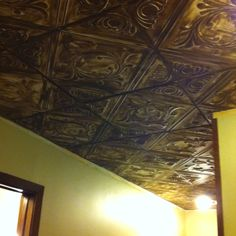 My hall ceiling after remodel