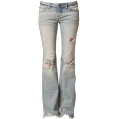 Free People Flare Destroyed Jeans and other apparel, accessories and trends. Browse and shop 12 related looks.