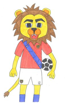 Skisse av Løven Leon