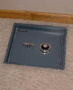 1000 images about hidden spaces on pinterest for the for Hidden floor safe
