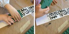 Ale, Texture, Tableware, Crafts, Design, Terra, Montessori, Kindergarten, Block Prints
