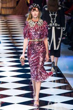 Défilé Dolce & Gabbana Pret a porter Automne hiver 2016 17 Dolce-Gabbana