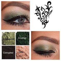 Be ready for St. Patrick's Day! Younique Pigments! Gorgeous green festive look. #youniquegreeneyes https://www.youniqueproducts.com/laurarluna/business