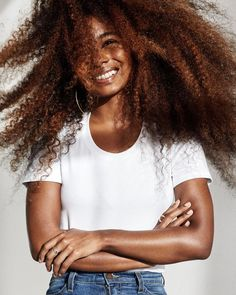 - Sunita (@sunitav_) Big curly hair. Afro hair. Kinky curly hair. Long hair. Natural hair. Colored hair. Frizzy curls. Curly frizz. Long curly hair. Long frizzy hair. Long hair.
